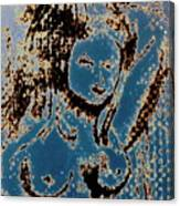 The Blue Nude Canvas Print