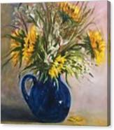The Blue Pitcher Canvas Print