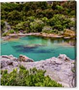The Blue Pool Canvas Print