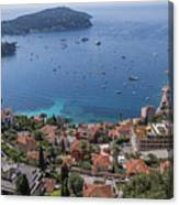 The Blue Waters Of Nice, France Canvas Print