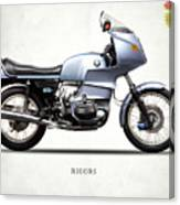 The R100rs Motorcycle 1977 Canvas Print