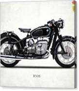 The R50s Motorcycle Canvas Print