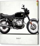 The R80 Motorcycle 1978 Canvas Print