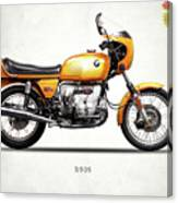 The R90s Motorcycle 1974 Canvas Print