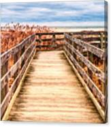 The Boardwalk Canvas Print
