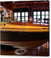 The Boathouse Interior Work 2 Canvas Print