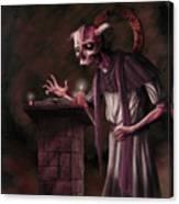 The Bone Priest Canvas Print