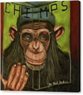 The Book Of Chimps Canvas Print