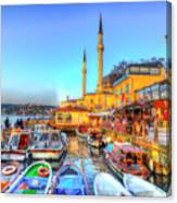 The Bosphorus Istanbul Canvas Print