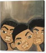 The Boyz In The Hood Canvas Print