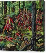 The Braddock Massacre Canvas Print