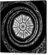 The Bramante Staircase Canvas Print