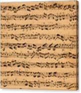 The Brandenburger Concertos Canvas Print