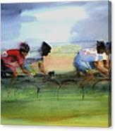 The Breakaway Canvas Print