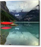 The Breathtakingly Beautiful Lake Louise Banff National Park Canvas Print