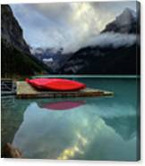 The Breathtakingly Beautiful Lake Louise II Canvas Print