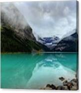 The Breathtakingly Beautiful Lake Louise Vi Canvas Print