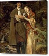 The Bride Of Lammermoor Canvas Print