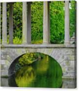 The Bridge Across The Pond Canvas Print