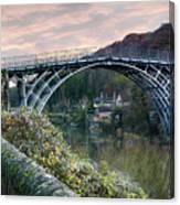 The Bridge Across The Severn Gorge Canvas Print