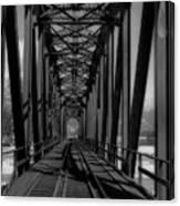 The Bridge At Mile 225 Canvas Print