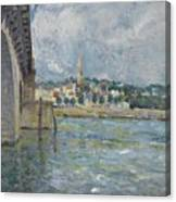 The Bridge At Saint Cloud Canvas Print