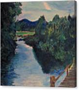 The Bridge In The Valley Canvas Print