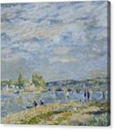 The Bridge Near Sevres Canvas Print