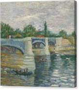 The Bridge Of Courbevoie, Paris Canvas Print