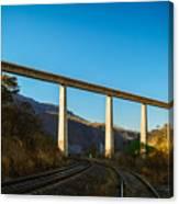 The Bridge Over The Railways Canvas Print