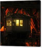 The Bridge Tenders House Canvas Print