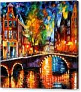 The Bridges Of Amsterdam Canvas Print