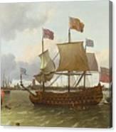 The Britannia In Rotterdam Canvas Print