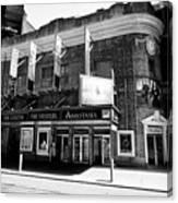 the Broadhurst theatre featuring anastasia musical New York City USA Canvas Print