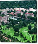 The Broadmoor Resort Canvas Print