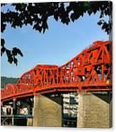 The Broadway Bridge Canvas Print