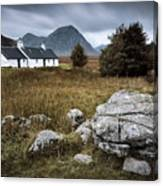Blackrock And The Buachaille Canvas Print