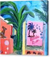 The Bubble Room Captiva Island Florida Canvas Print