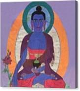 The Buddha Of Medicine  Canvas Print