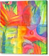 The Buddha's Head Canvas Print