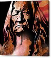 The Buffalo Hunter Canvas Print