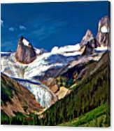 The Bugaboos Canvas Print