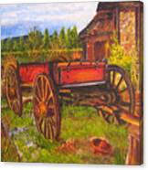 The Buggy, 11x14, Oil, '07 Canvas Print