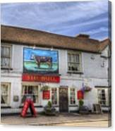 The Bull Pub Theydon Bois Panorama Canvas Print