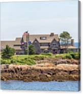 The Bush Family Compound On Walkers Point Canvas Print