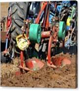 The Business End Of A Tractor  Canvas Print