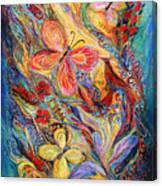 The Butterflies Canvas Print