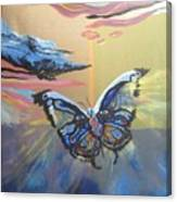 The Butterfly  Canvas Print