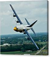 the C-130  Canvas Print