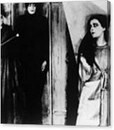 The Cabinet Of Dr.caligari Canvas Print